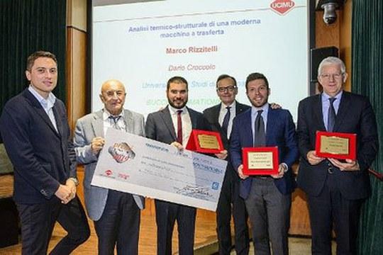 UCIMU 2019: premiate le tesi di laurea di due studenti Unibo